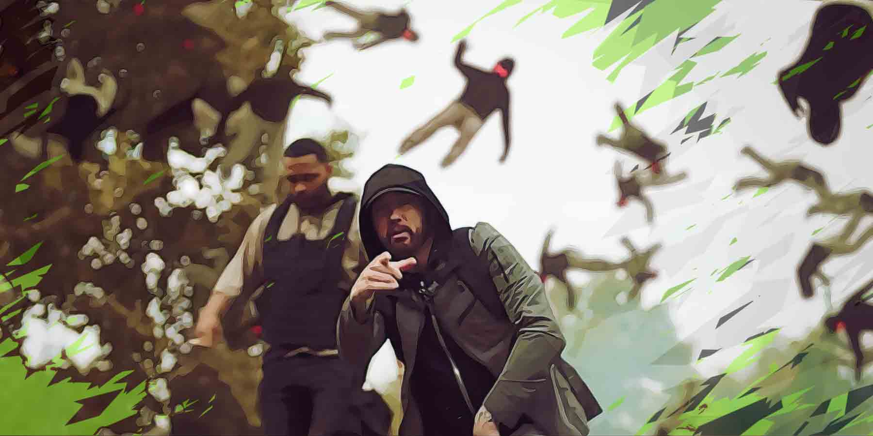 Eminem and Joyner Lucas Share their Frustrations in Lucky You | Lyreka